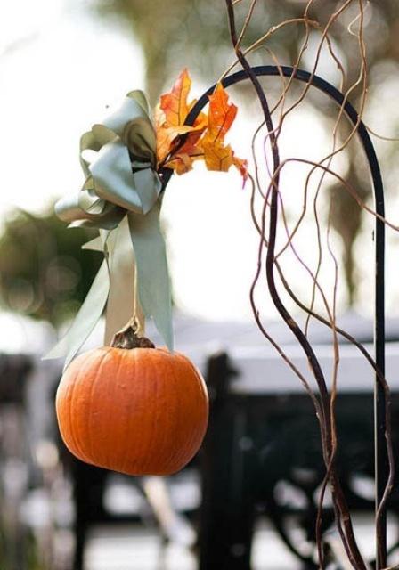 37 Stunning Fall Wedding Aisle Décor Ideas - Weddingomania