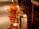 Stunning Fall Wedding Aisle Decor Ideas