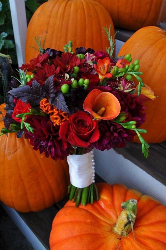 Fall Wedding Bouquets Weddingomania Click For Details 26 Fall Wedding