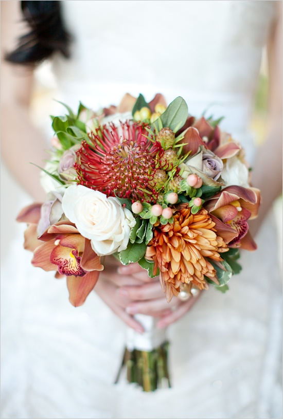 fall wedding bouquets picture of stunning fall wedding bouquets 4020