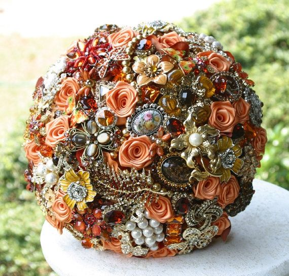 Stunning Fall Wedding Bouquets
