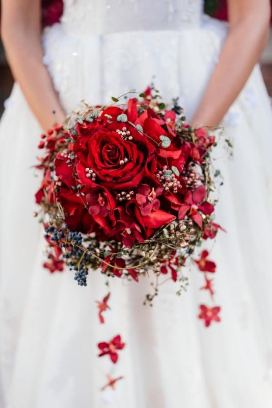 Picture Of stunning james bond spectre wedding inspiration  3