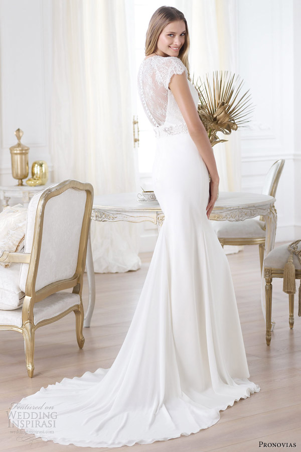 stunning pronovias 2014 wedding dresses pre collection weddingomania