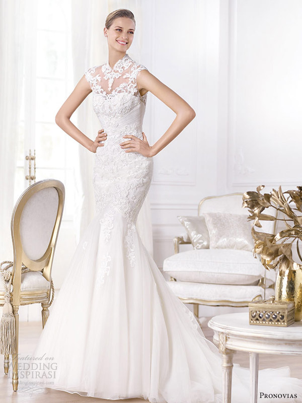Picture Of Stunning Pronovias 2014 Wedding Dresses Pre Collection