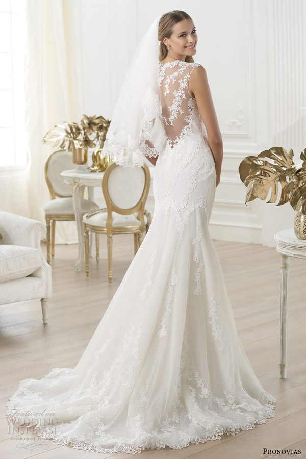 Stunning Pronovias 2014 Wedding Gowns Pre-Collection - Weddingomania