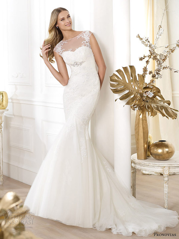 Fall 2014 Wedding Dresses Cheap Pronovias Wedding Dress