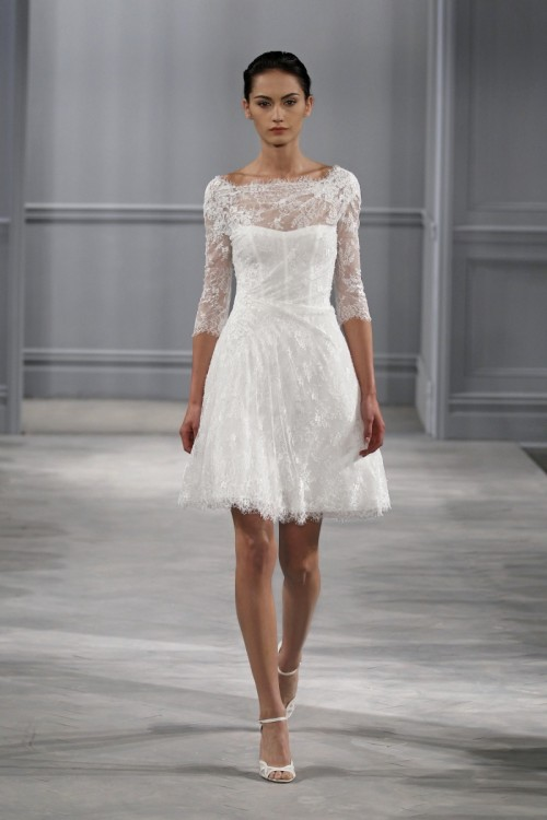 6 Stunning Short Lace Dresses From Spring 2014 Collections