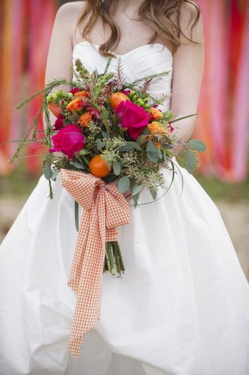 Stunning Valentine's Day Wedding Bouquets