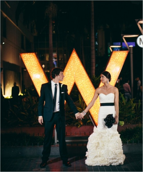 Stunning Vintage Hollywood Inspired Wedding