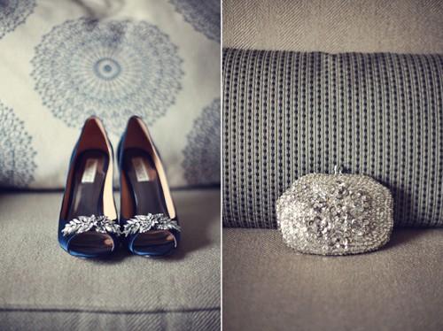 Stylish And Elegant Urban Rustic Wedding