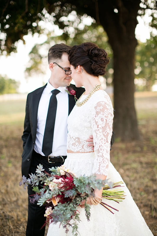 Picture Of stylish and modern safari inspired wedding with a zebra  2