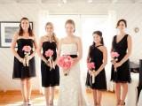 Stylish Black Bridesmaids Dresses