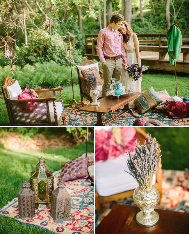 Stylish Boho Moroccan Wedding Shoot