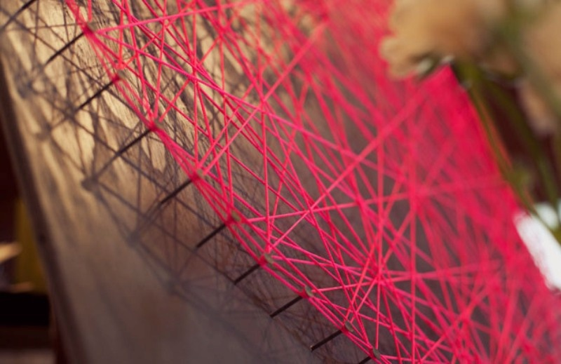 Stylish Diy String Heart For Your Wedding Reception Decor