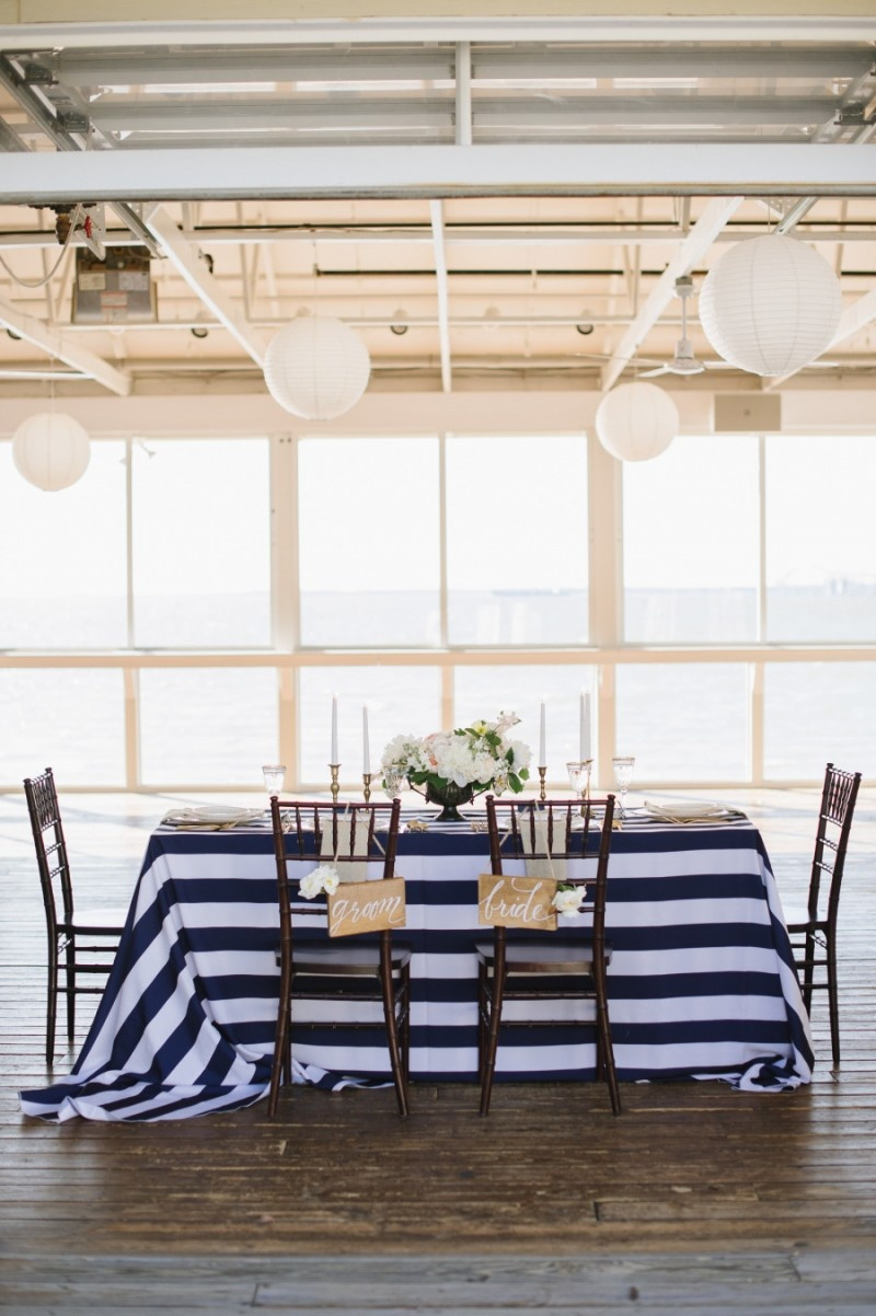 Picture Of stylish navy and white wedding ideas that youll love  13