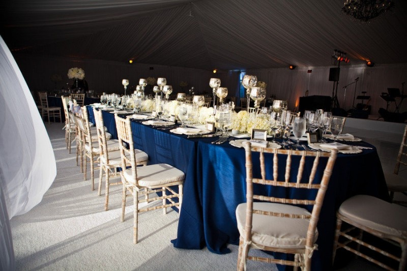 Picture Of stylish navy and white wedding ideas that youll love  17