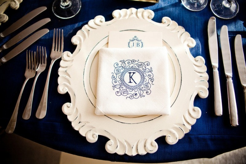 Picture Of stylish navy and white wedding ideas that youll love  18