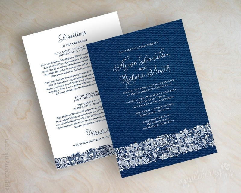 Picture Of stylish navy and white wedding ideas that youll love  3