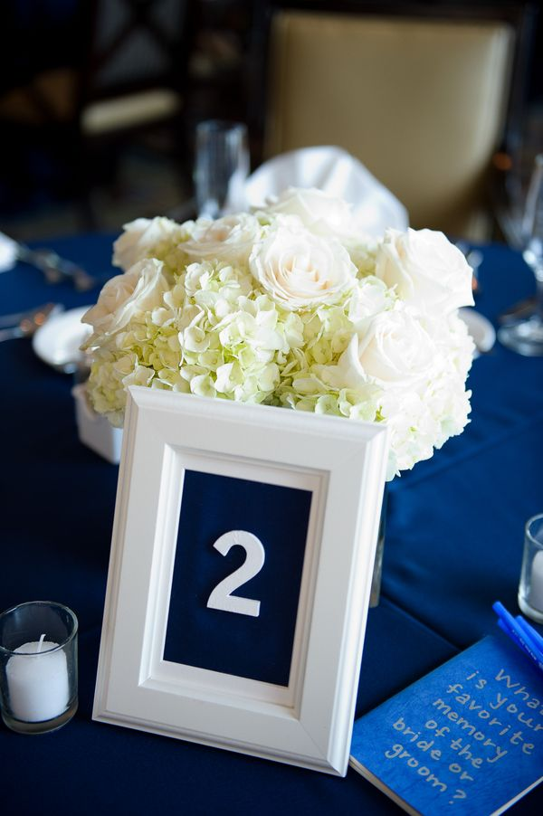 Picture Of stylish navy and white wedding ideas that youll love  31