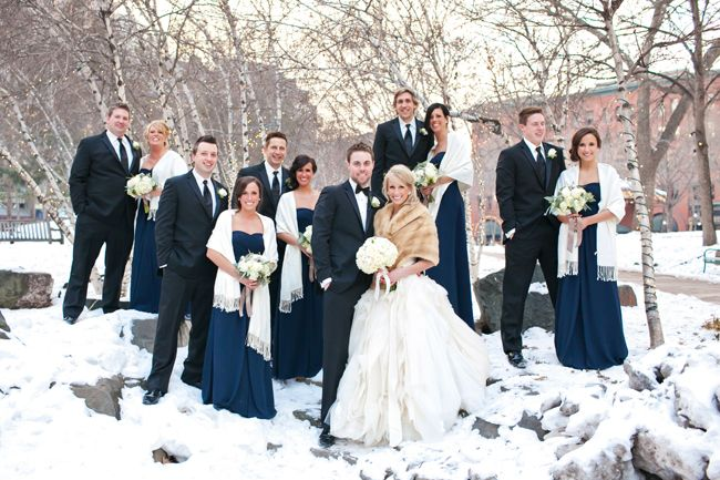 Picture Of stylish navy and white wedding ideas that youll love  40