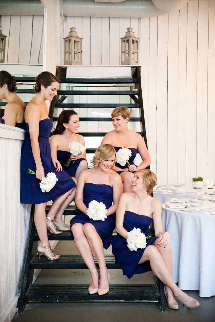 Picture Of stylish navy and white wedding ideas that youll love  43