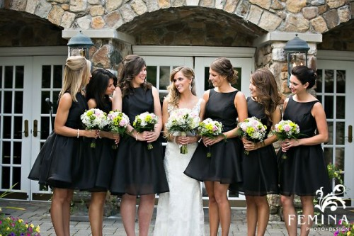 47 Stylish Short Bridesmaids' Dresses