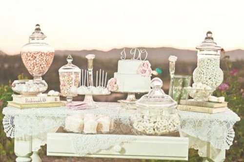Stylish Wedding Dessert Table Decor Ideas & 46 Stylish Wedding Dessert Table Ideas - Weddingomania
