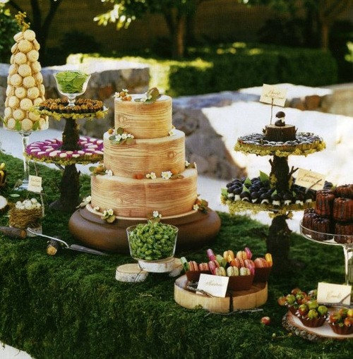 Country Wedding Dessert Table: Picture Of Stylish Wedding Dessert Table Decor Ideas