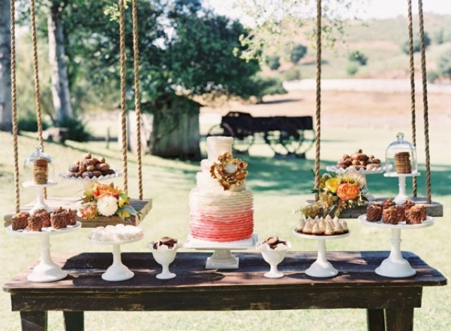 beach wedding cake table ideas picture of stylish wedding dessert table decor ideas 11191