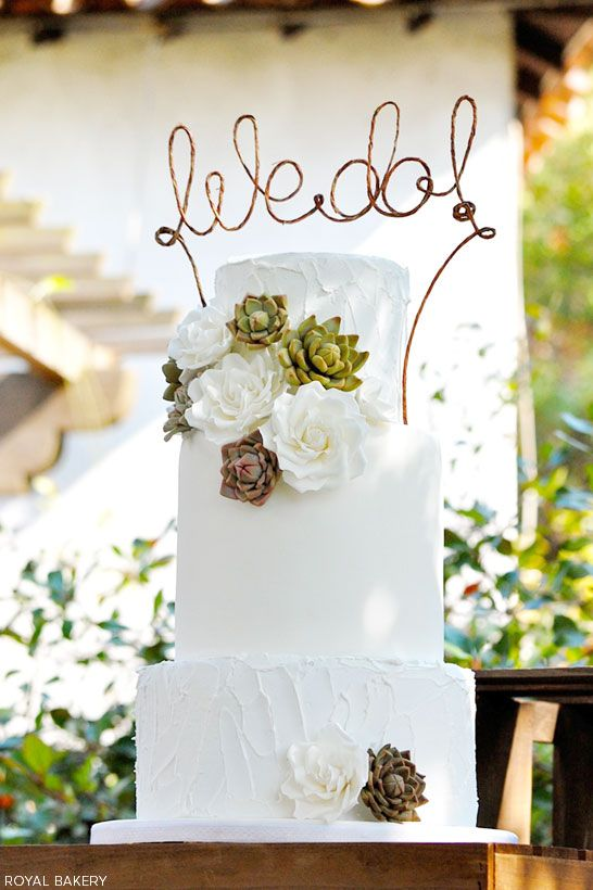 Picture Of succulent wedding cakes  15