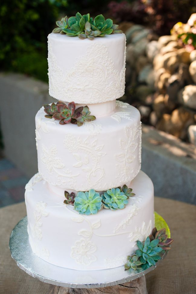 Picture Of succulent wedding cakes  18