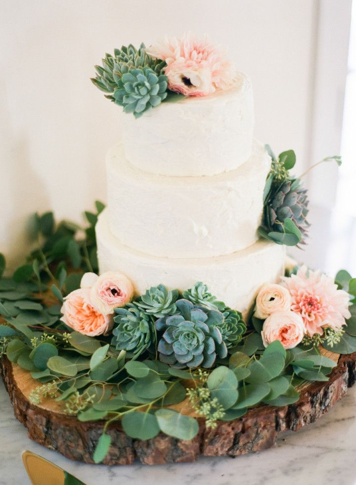 Picture Of succulent wedding cakes  27
