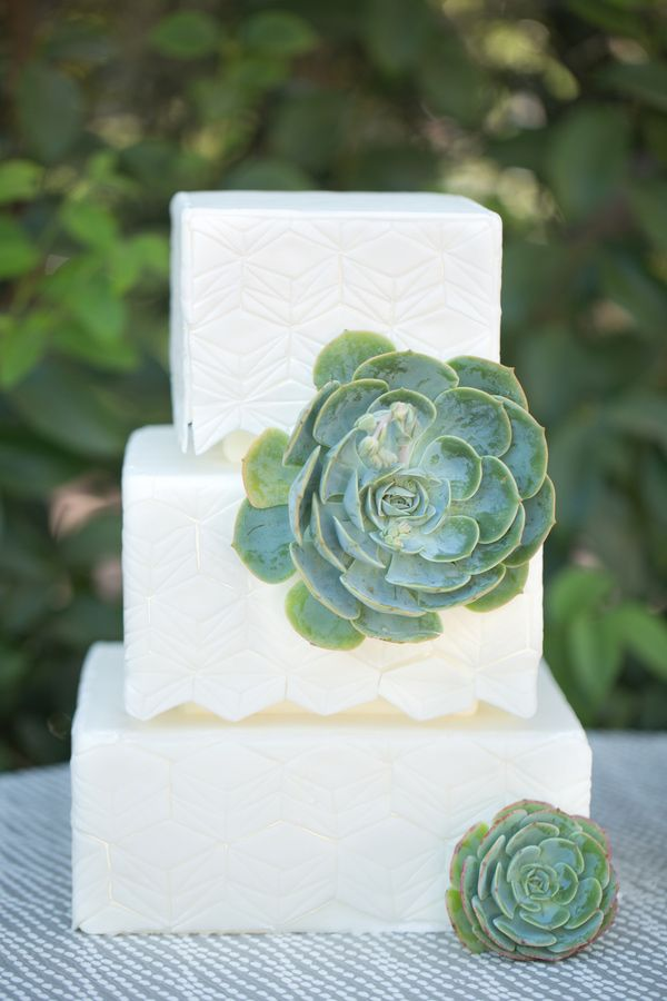 Picture Of succulent wedding cakes  29