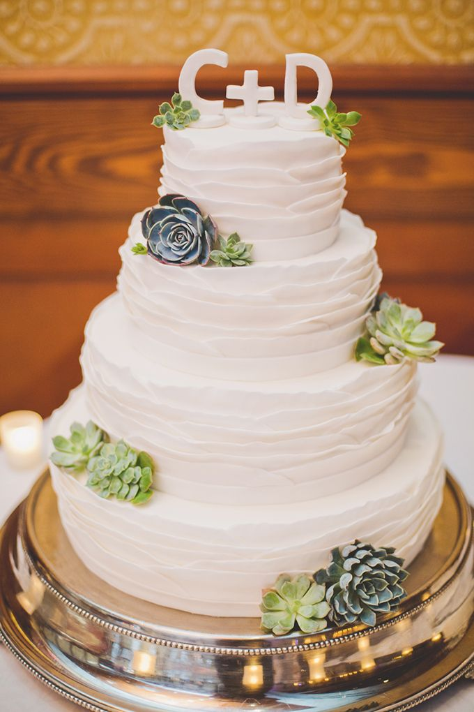 Picture Of succulent wedding cakes  6