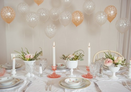 Sugary Sweet Retro Bridal Shower Inspiration