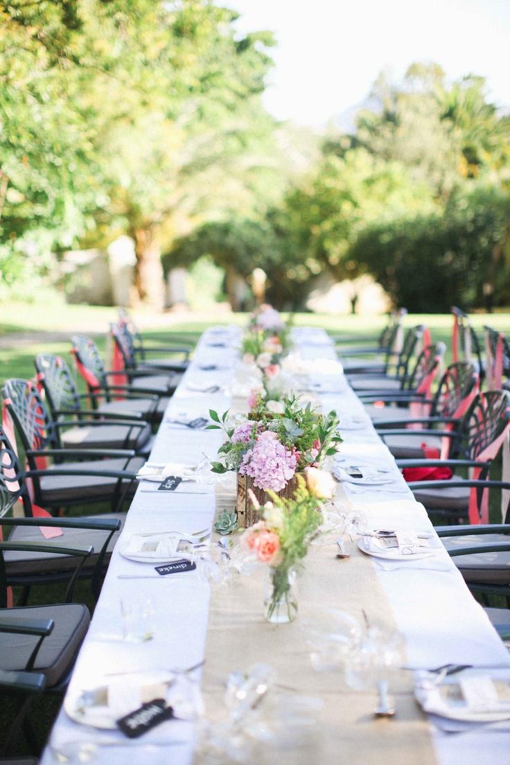 67 summer wedding table décor ideas » photo 17