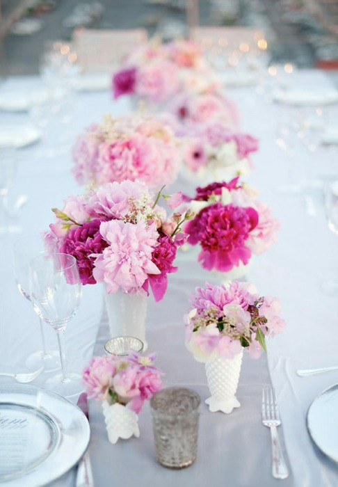 Wedding decoration ideas for tables romantic decoration 67 summer wedding table dcor summer wedding table decor ideas weddingomania junglespirit Images