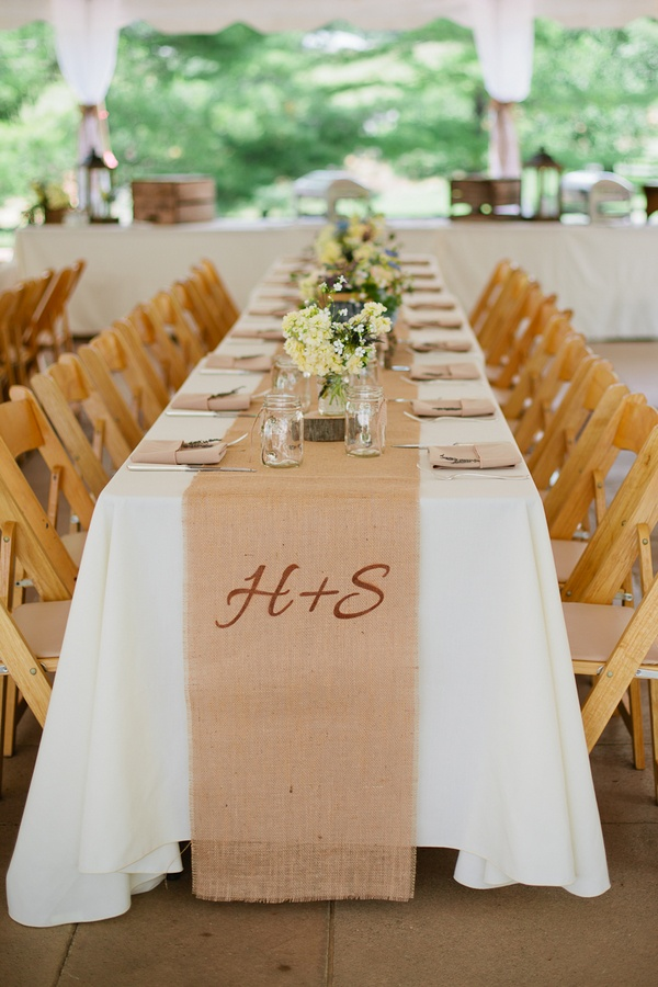 Picture of summer wedding table decor ideas for Wedding accessories ideas