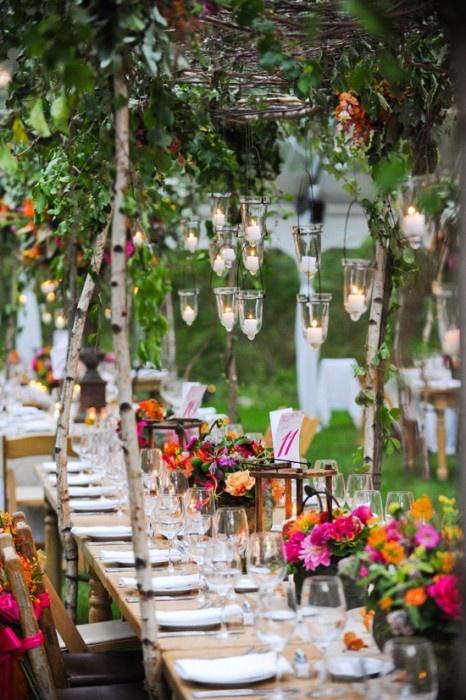 Wedding Decorations Ideas Summer: Summer outdoor wedding decoration ...