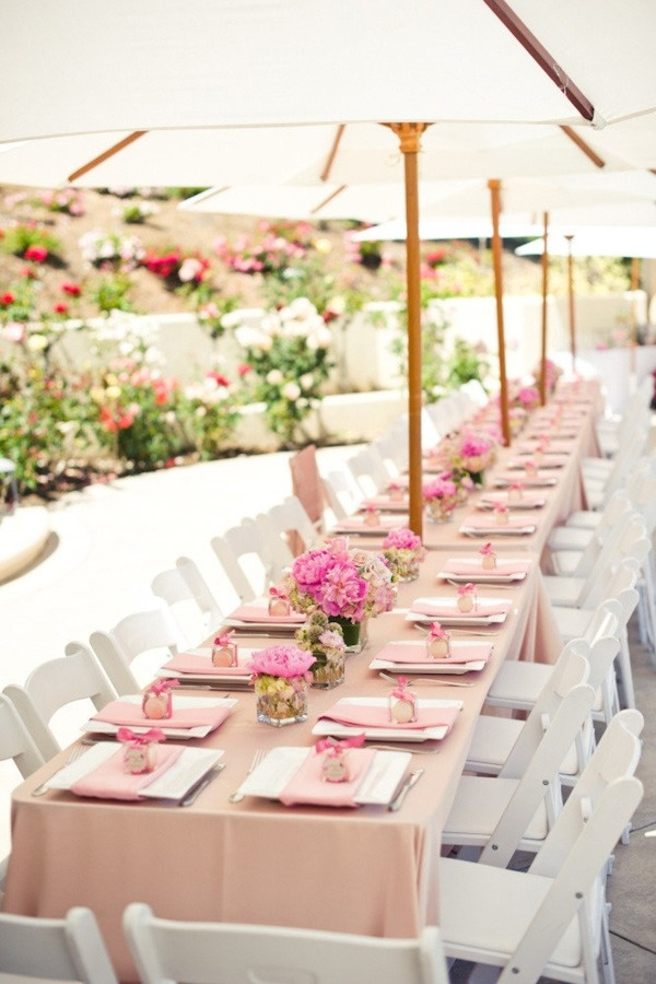 Summer Wedding Decorations : Summer wedding table d?cor ideas photo pictures to pin on