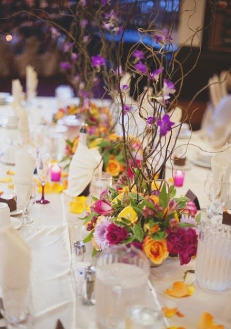 Summer wedding table décor ideas weddingomania