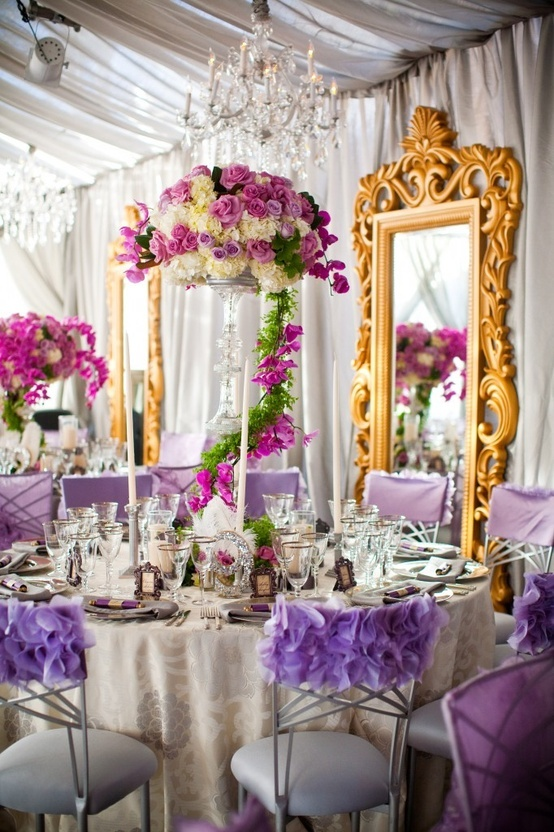 Picture of summer wedding table decor ideas for Table decoration design