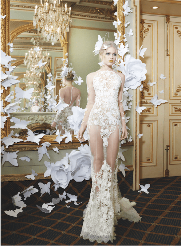 Picture Of sumptuous yolan cris 2015 wedding dresses collection  11