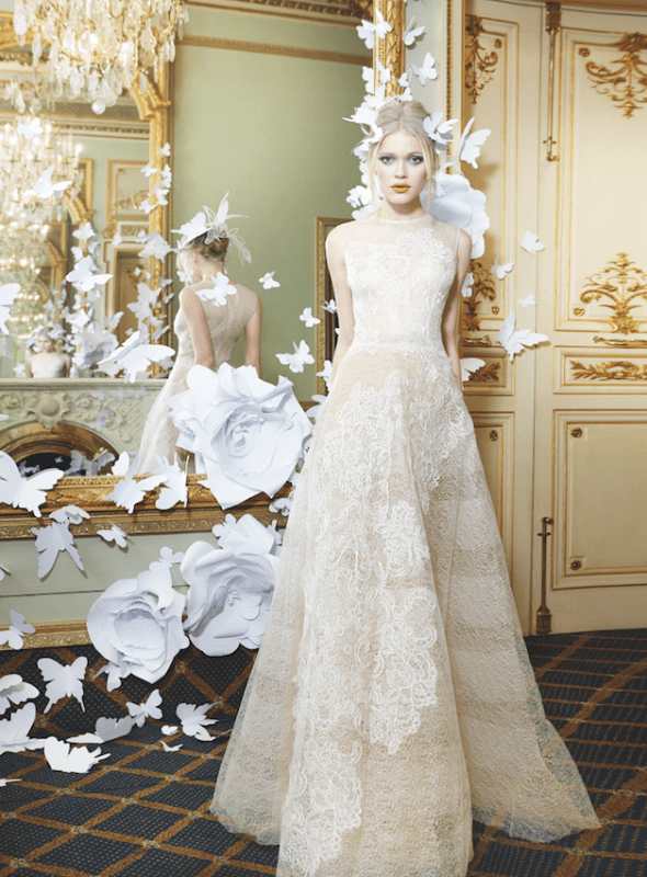 Picture Of sumptuous yolan cris 2015 wedding dresses collection  12
