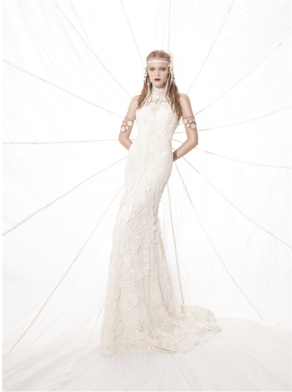 Picture Of sumptuous yolan cris 2015 wedding dresses collection  14