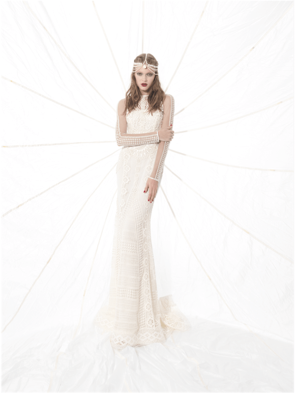 Picture Of sumptuous yolan cris 2015 wedding dresses collection  15