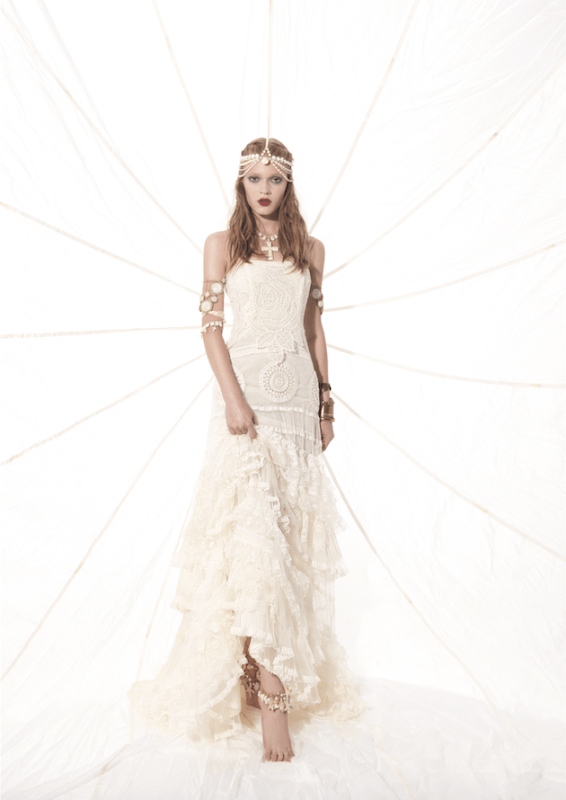 Picture Of sumptuous yolan cris 2015 wedding dresses collection  17