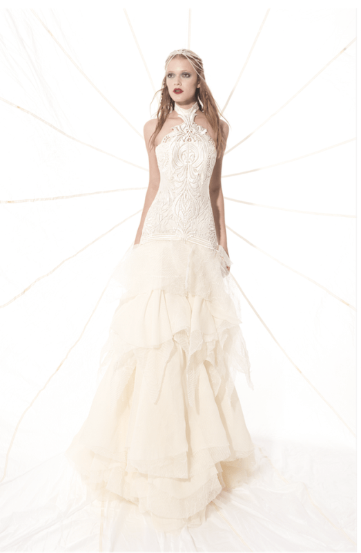 Picture Of sumptuous yolan cris 2015 wedding dresses collection  19