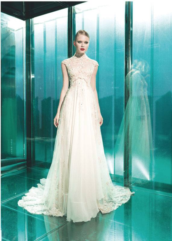 Picture Of sumptuous yolan cris 2015 wedding dresses collection  21