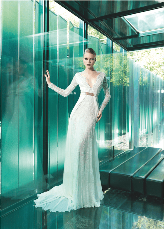 Picture Of sumptuous yolan cris 2015 wedding dresses collection  22